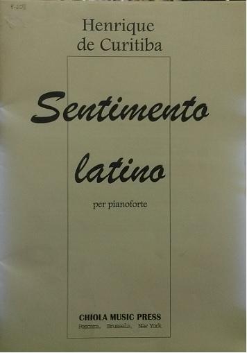 SENTIMENTO LATINO - Henrique de Curitiba