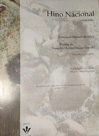 Hino Nacional Brasileiro - partitura para Canto E Piano - Francisco Manuel Da Silva