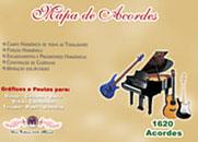 MAPA DE ACORDES - 1620 Acordes Coloridos - RIVALDO MENDES
