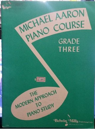 MICHAEL AARON – CURSO PARA PIANO 3° VOL – Edição em inglês