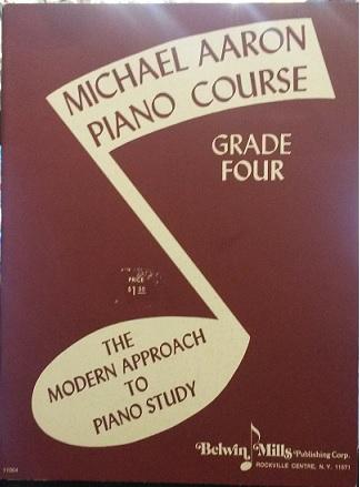MICHAEL AARON – CURSO PARA PIANO 4° VOL – Edição em inglês