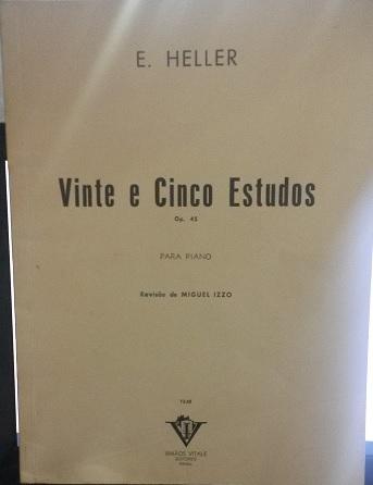 HELLER - 25 ESTUDOS opus 45 - Heller (Vitale)