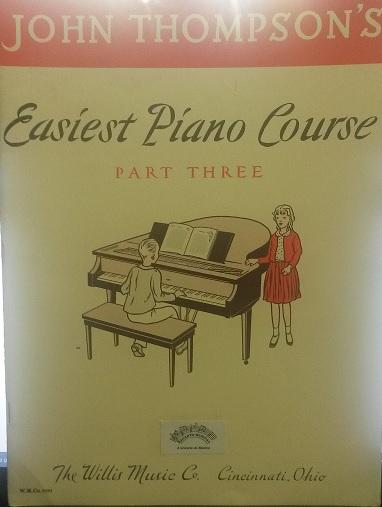 JOHN THOMPSON´S EASIEST PIANO COURSE - Part 3 - John Thompson