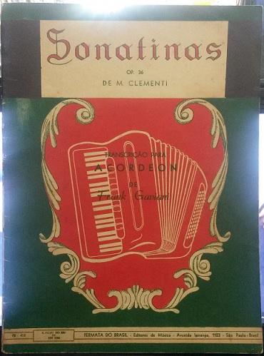 CLEMENTI - SONATINAS opus 36 – Transcrição para acordeon