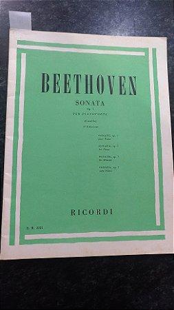 BEETHOVEN - SONATA OPUS 7 PARA PIANO
