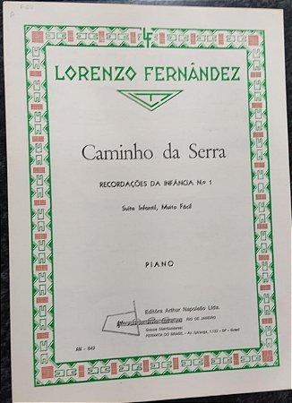 CAMINHO DA SERRA - partitura para piano - Lorenzo Fernandez