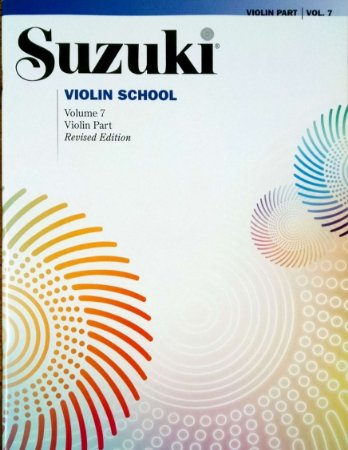 SUZUKI VIOLIN SCHOOL - Vol. 7 - Violin Part - International Edition