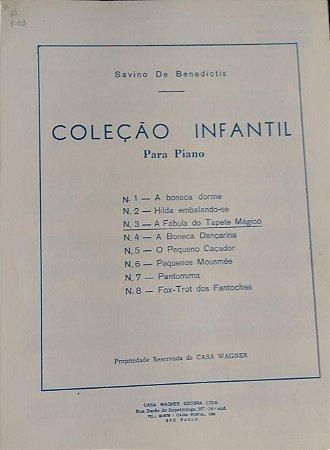 A FÁBULA DO TAPETE MÁGICO - partitura para piano - Savino de Benedictis