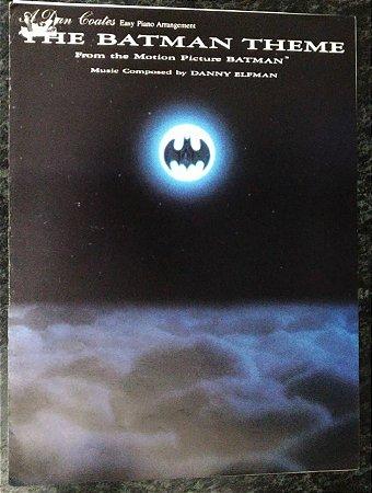 PARTITURA PARA PIANO: THE BATMAN THEME (ARRANJO FACILITADO) - Danny Elfman