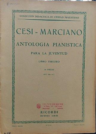 CESI - MARCIANO - ANTOLOGIA PIANÍSTICA PARA A JUVENTUDE - Vol. 3
