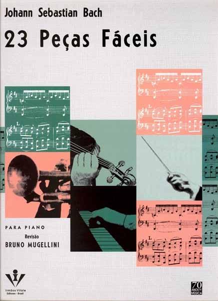 BACH - 23 PEÇAS FÁCEIS PARA PIANO