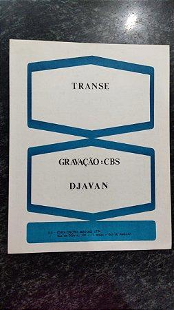 TRANSE - partitura para piano solo - Djavan