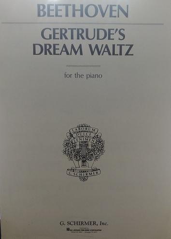 Gertrude´S Dream Waltz - Sonho de Gertrudes - Beethoven