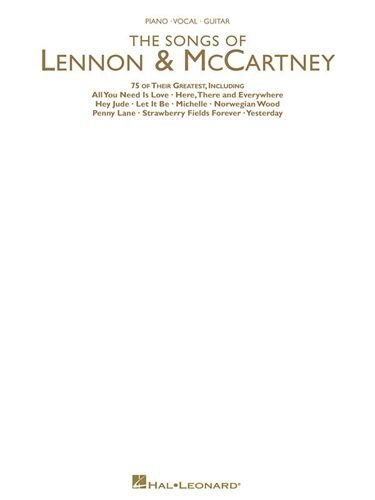 THE SONGS OF LENNON & MCCARTNEY - Piano - vocal - guitar