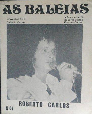 PARTITURA PARA PIANO: AS BALEIAS - Roberto Carlos e Erasmo Carlos