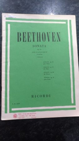 BEETHOVEN - SONATA OPUS 26