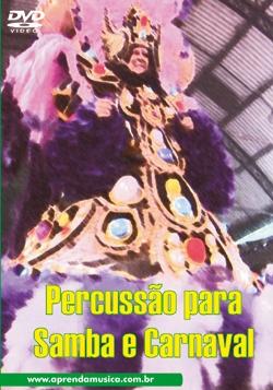 DVD - PERCUSSÃO PARA SAMBA E CARNAVAL - Quesada