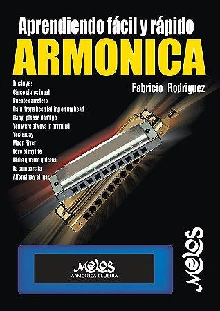 APRENDIENDO FÁCIL Y RÁPIDO ARMONICA - Fabricio Rodriguez
