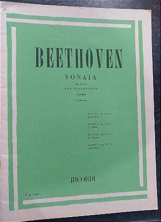 BEETHOVEN - SONATA Opus 02 n° 3 (Rev. Casella) Ed. Ricordi Italiana
