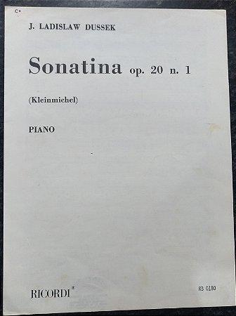 DUSSEK - SONATINA Opus 20 n° 1 (Rev. Kleinmichel) Ed. Ricordi