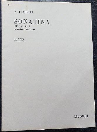 DIABELLI – SONATINA Opus 168 n° 3 (Rev.P. Montani) - Editora Ricordi