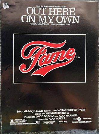 OUT HERE ON MY OWN - partitura para piano, vocal e cifras para violão - Michael Gore e Lesley Gore (Tema do Filme: Fame)