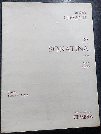 CLEMENTI – SONATINA OPUS 36 N° 3 – Editora Cembra / Ricordi