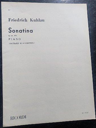 KUHLAU – SONATINA OPUS 20 N° 1 – Editora Ricordi