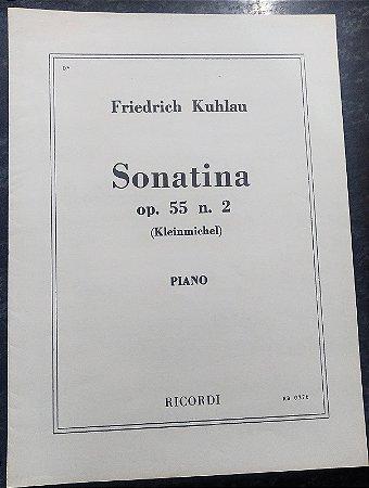 KUHLAU – SONATINA OPUS 55 N° 2 – Editora Ricordi