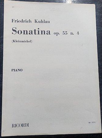 KUHLAU – SONATINA OPUS 55 N° 4 – Editora Ricordi