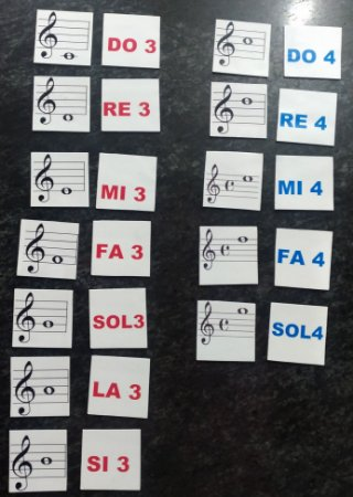 JOGO DE MEMÓRIA – NOTAS MUSICAIS