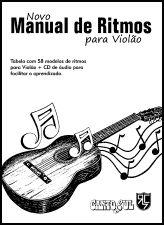 NOVO MANUAL DE RITMOS para VIOLÃO (com Cd) - Canto Sul