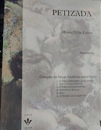 A MÃO DIREITA TEM UMA ROSEIRA - partitura para piano - Villa-Lobos