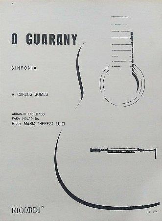 PARTITURA PARA VIOLÃO: O GUARANY - Carlos Gomes