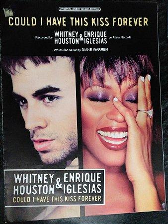 PARTITURA PARA PIANO: COULD I HAVE THS KISS FOREVER - Whitney Houston e Enrique Iglesias