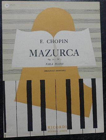 MAZURCA OPUS 33 N° 1 - Chopin (partitura para piano solo)