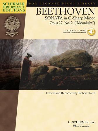 BEETHOVEN - SONATA IN C-SHARP MINOR, OPUS 27, NO. 2 (MOONLIGHT - Ao luar)