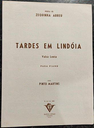 TARDES EM LINDÓIA - partitura para piano - valsa lenta - Zequinha Abreu e Pinto Martins