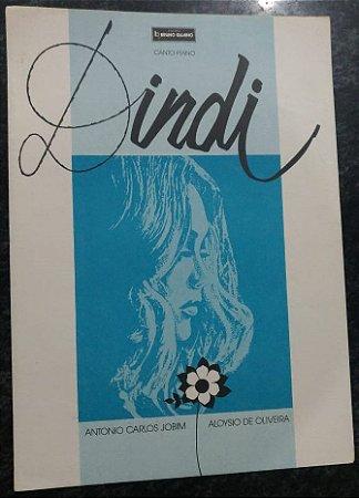 DINDI - partitura para canto e piano - Antoniio Carlos Jobim e Aloysio de Oliveira