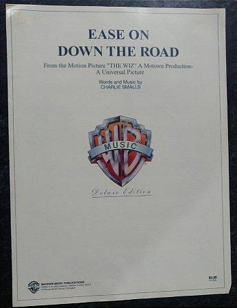 EASE ON DOWN THE ROAD (do filme The Wiz) - partitura para piano e canto e cifras para violão - Charlie Smalls