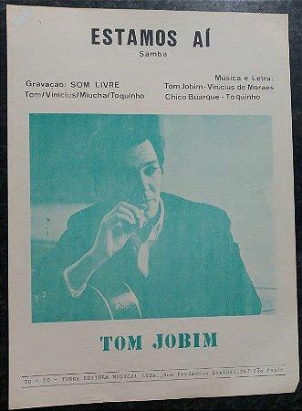 ESTAMOS AÍ (partitura para piano solo) - Tom Jobim