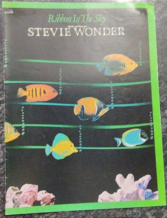 RIBBON IN THE SKY - partitura para piano, vocal e cifras para violão/guitarra - Stevie Wonder