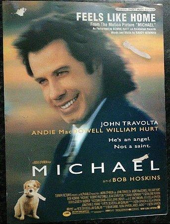 FEELS LIKE HOME (Tema do filme Michael) - partitura para piano, canto e cifras para violão - Randy Newman