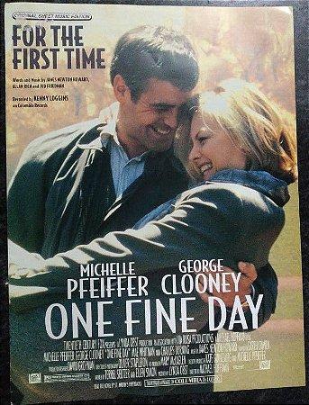 FOR THE FIRST TIME (Tema do filme One fine day) - partitura para piano, canto e cifras para violão - Kenny Loggins