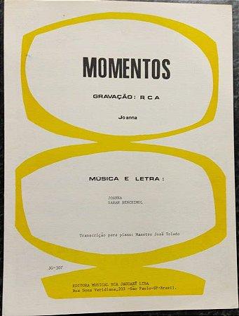 MOMENTOS - partitura para piano e cifras - Joanna
