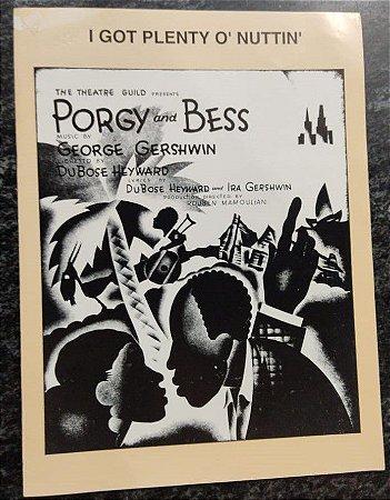I GOT PLENTY O´NUTTIN´ - partitura para piano, canto e cifras para violão - Porgy and Bess