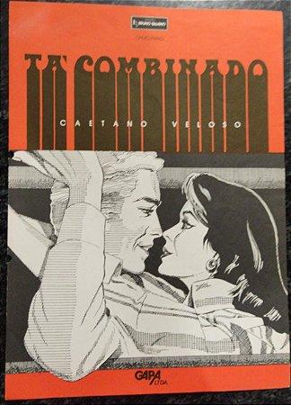 TÁ COMBINADO - partitura para piano e canto - Caetano Veloso