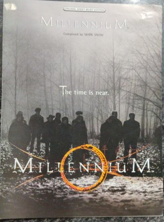 MILLENNIIUM - partitura para piano solo - Mark Snow (The time is near.)