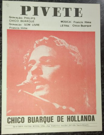 PIVETE - partitura para piano - Chico Buarque de Hollanda