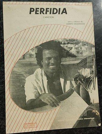 PERFIDIA CANCION - partitura para piano - Alberto Dominguez
